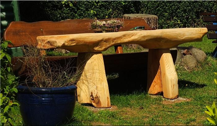 Gartentisch Holz Unbehandelt ~ gartentisch holz